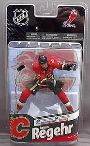 NHL Sportspicks Series 24 Robyn Regehr (Calgary Flames) Red Jersey