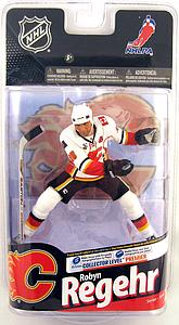 NHL Sportspicks Series 24 Robyn Regehr (Calgary Flames) White Jersey Variant
