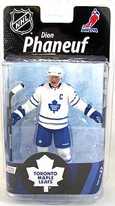NHL Sportspicks Series 27 Dion Phaneuf (Toronto Maple Leafs) White Jersey Bronze Collector Level (Only 2000 Made!)