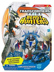 Transformers Prime Beast Hunters Deluxe Class: Smokescreen