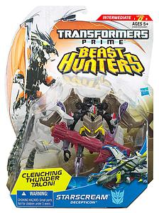 Transformers Prime Beast Hunters Deluxe Class: Starscream
