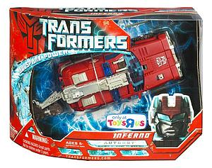 Transformers Movie Allspark Power Exclusive Voyager Class: Inferno