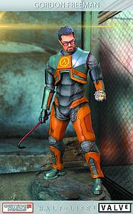 "Gaming Heads Half-Life 2 20"" Statue Gordon Freeman"