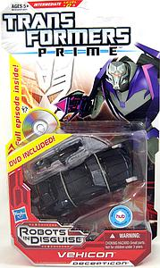Transformers Prime Deluxe Class: Vehicon (DVD Included)