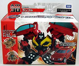 Transformers Prime Japanese Series Deluxe: Rumble AM-30