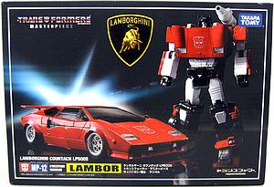 Transformers Masterpiece Series: Sideswipe MP-12