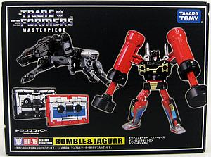 Transformers Masterpiece Series: Rumble & Ravage MP-15