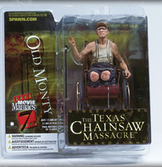 Movie Maniacs 7 The Texas Chainsaw Massacre: Old Monty