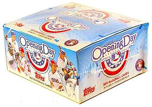 2013 MLB Opening Day Baseball Hobby Box