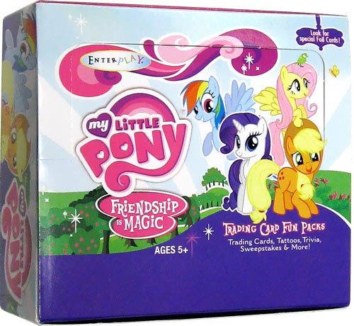 My Little Pony Friendship is Magic Trading Cards: Hobby Box (30 Packs)