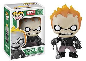 Pop! Marvel Universe Vinyl Bobble-Head Ghost Rider #18 (Vaulted)
