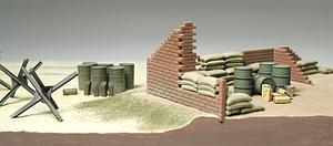 Brick Wall/Sand Bag/Barricade Set (32508)