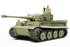 TAMIYA 1:48 Scale Tank Plastic Model Kit German Tiger I Initial Production (Africa Corps) (32529)
