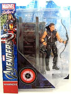 "Marvel Select 8"": Avengers Movie Hawkeye"