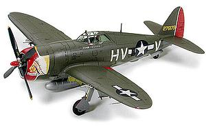 "Tamiya 1:72 Scale Model Kit Republic P-47D Thunderbolt ""Razorback"" #69 (60769)"