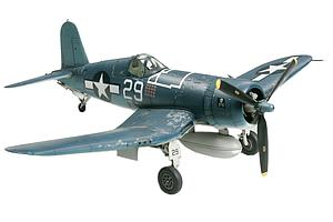 TAMIYA 1:72 Scale Airplane Plastic Model Kit Vought F4U-1A Corsair (TAM60775)