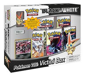 Pokemon Trading Card Game Black & White Base Set: Victini Collection Box