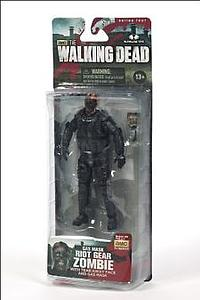 "The Walking Dead 5"" TV Series 4 - Riot Gear Gas Mask Zombie"