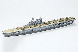 TAMIYA 1:700 Scale Ship Plastic Model Kit U.S. Aircraft Carrier  Hornet #110 (77510)