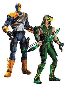 DC Direct Injustice Gods Among Uss 2-Pack: Deathstroke vs Green Arrow