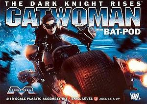 Batman: The Dark Knight Rises Bat-Pod with Catwoman (938)