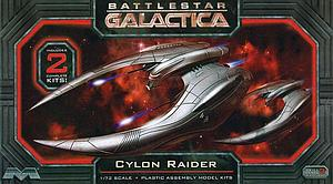 Moebius Battlestar Galactica 1/72 Model Kit 2-Pack Cylon Raider (959)
