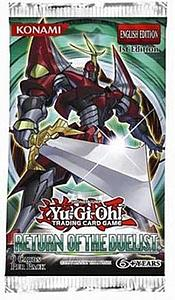 YuGiOh Trading Card Game Return of the Duelist: Booster Pack