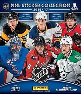 2016-2017 NHL Hockey Sticker Album