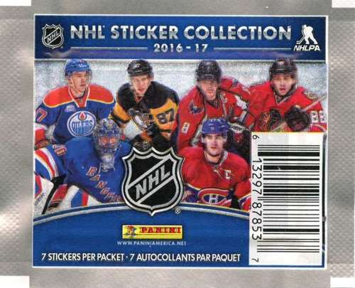 2016-2017 NHL Hockey Sticker Pack
