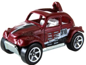 Hot Wheels Cars Die-Cast: Baja Beetle Volkswagen
