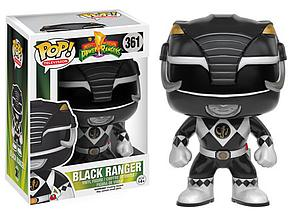Pop! Television Power Rangers Vinyl Figure Black Ranger #361 (Vaulted)