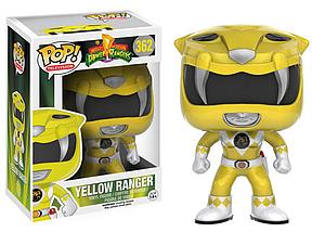 Pop! Television Power Rangers Vinyl Figure Yellow Ranger #362 (Vaulted)