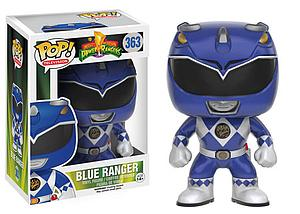 Pop! Television Power Rangers Vinyl Figure Blue Ranger #363 (Vaulted)