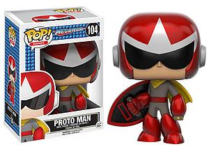 Pop! Games Mega Man Vinyl Figure ProtoMan #104