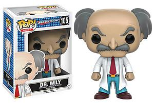 Pop! Games Mega Man Vinyl Figure Dr. Wily #105