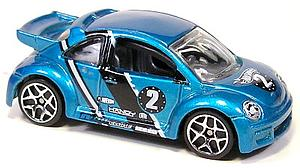 Hot Wheels Cars Die-Cast: Volkswagen New Beetle Cup (Hollow Rim)