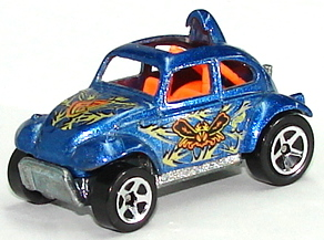Hot Wheels Buggin' Out Series Cars Die-Cast: Baja Bug