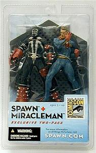 Spawn Exclusive 2-Packs: Spawn & Miracleman