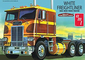 White Freightliner Dual Drive Cabover Tractor (620)