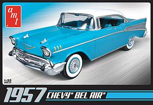 1957 Chevy Bel Air Blue (AMT638)