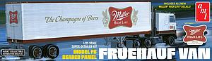 Fruehauf Beaded Van Trailer (649)