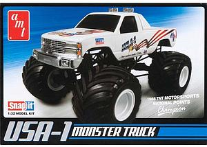 USA-1 4x4 Monster Truck with New Decals (672)