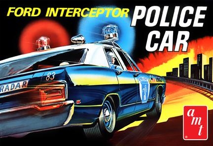 1970 Ford Galaxie Interceptor Police Car (788)