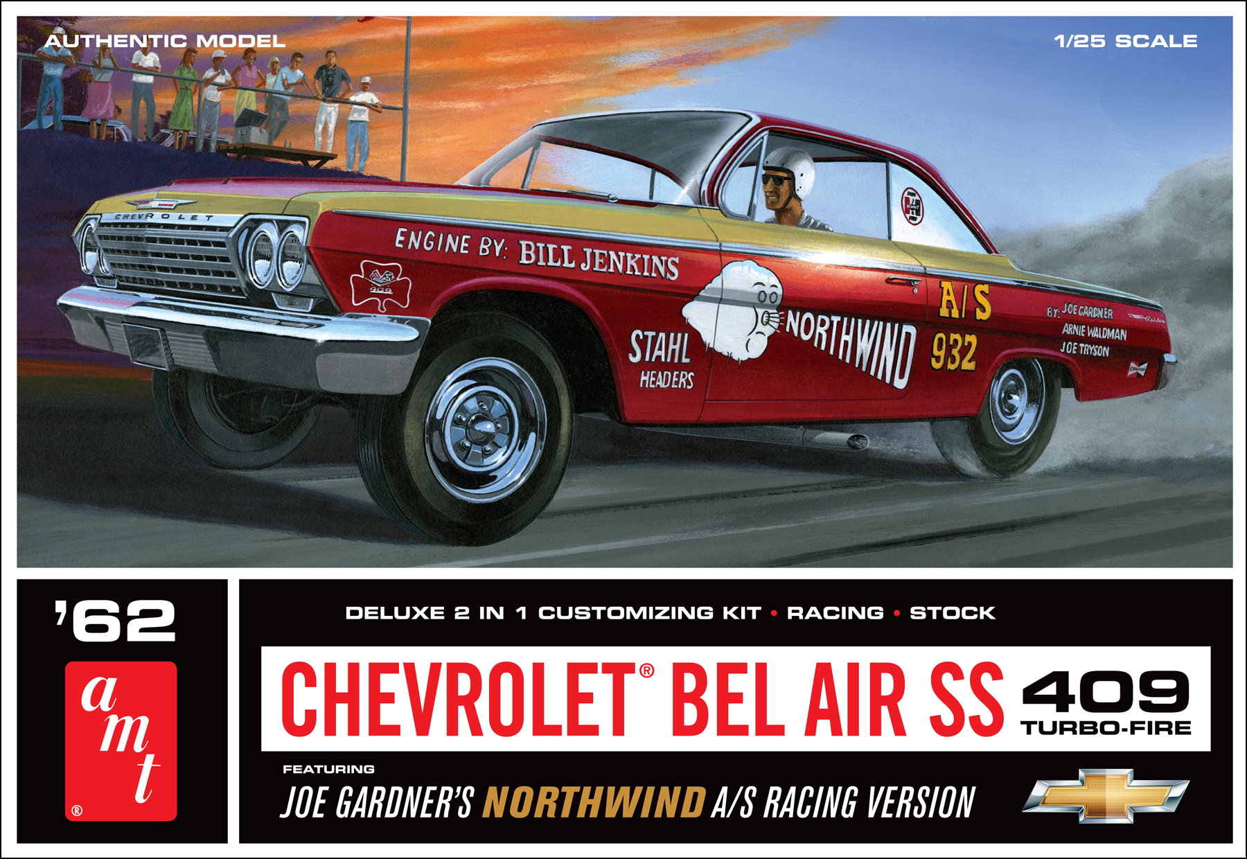 1962 Chevy Bel Air SS 409 Joe Gardner Racing Version (865)