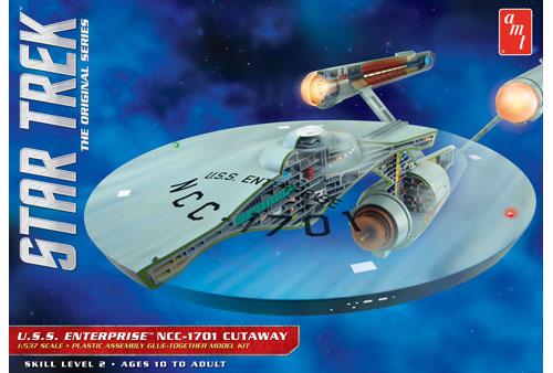 star trek u s s enterprise cutaway 891 www