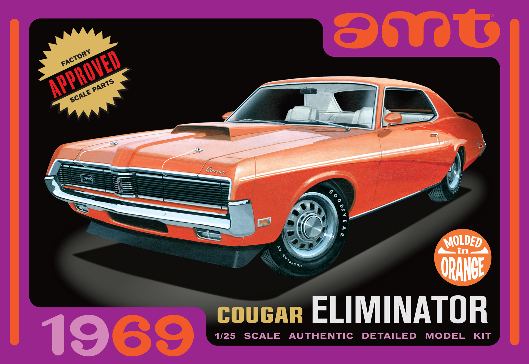 1969 Mercury Cougar [Orange] (912)