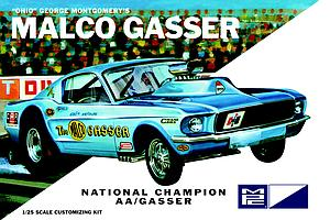Ohio George Malco Gasser 1967 Mustang Funny Car [White] (800)
