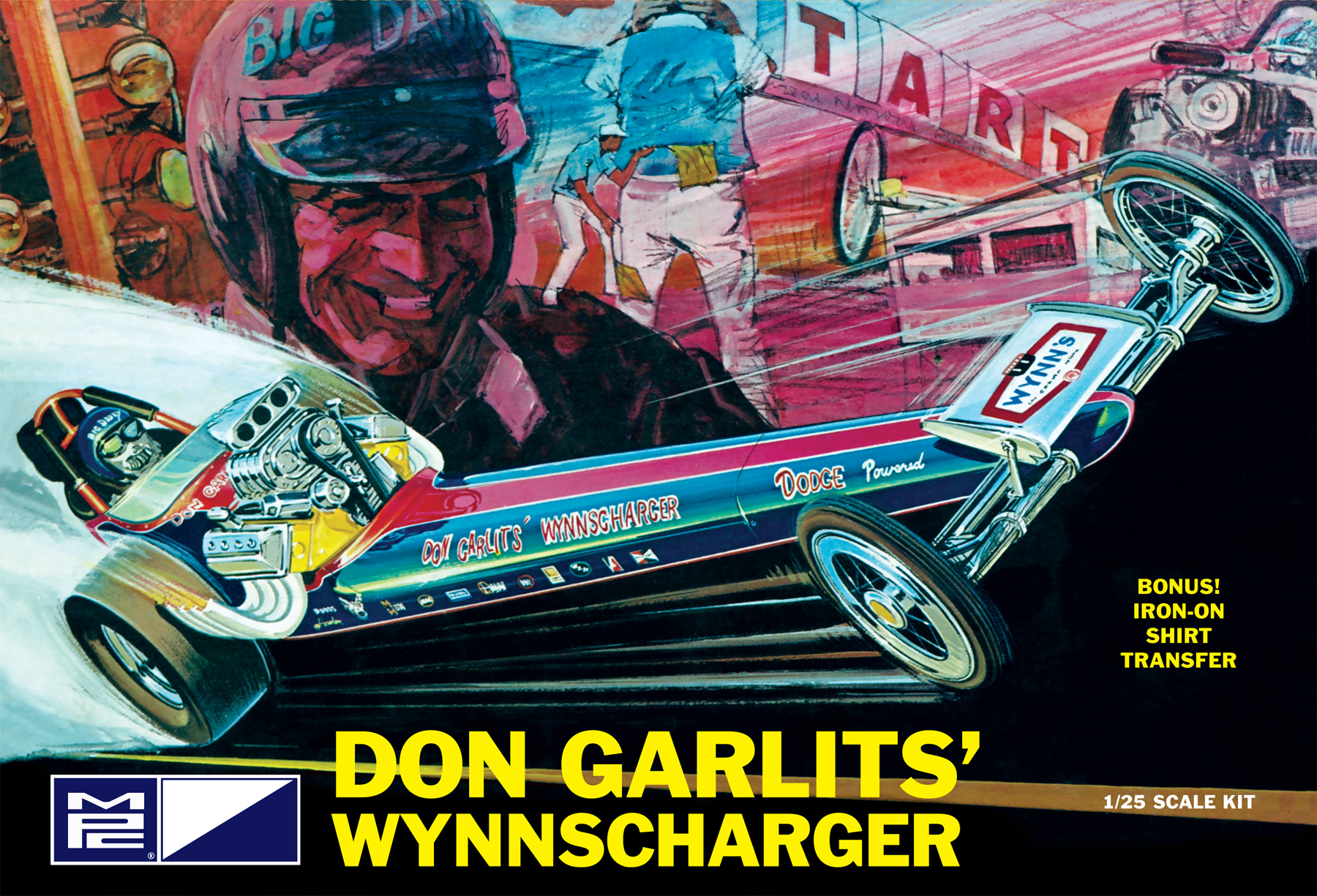 Don Garlits Wynns Charger Front Engine Rail Dragster (810)