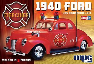 1940 Ford Fire Chief Super Snap (815)