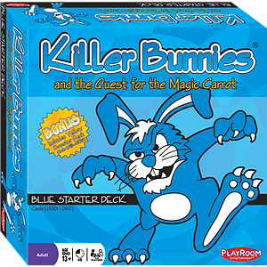 Killer Bunnies & the Quest for the Magic Carrot: Blue Starter Deck